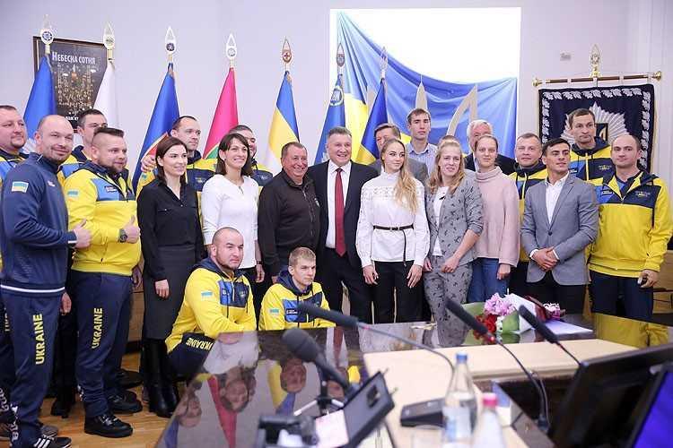 В Динамо отметили лучших спортсменов года / dynamo.ua