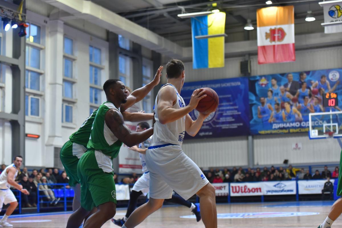 Химик обыграл Одессу в матче регулярного чемпионата Суперлиги / fbu.ua