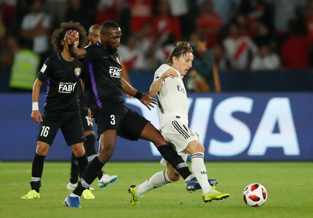 Лука Модрич открыл счет в финальном матче клубного чемпионата мира / Reuters