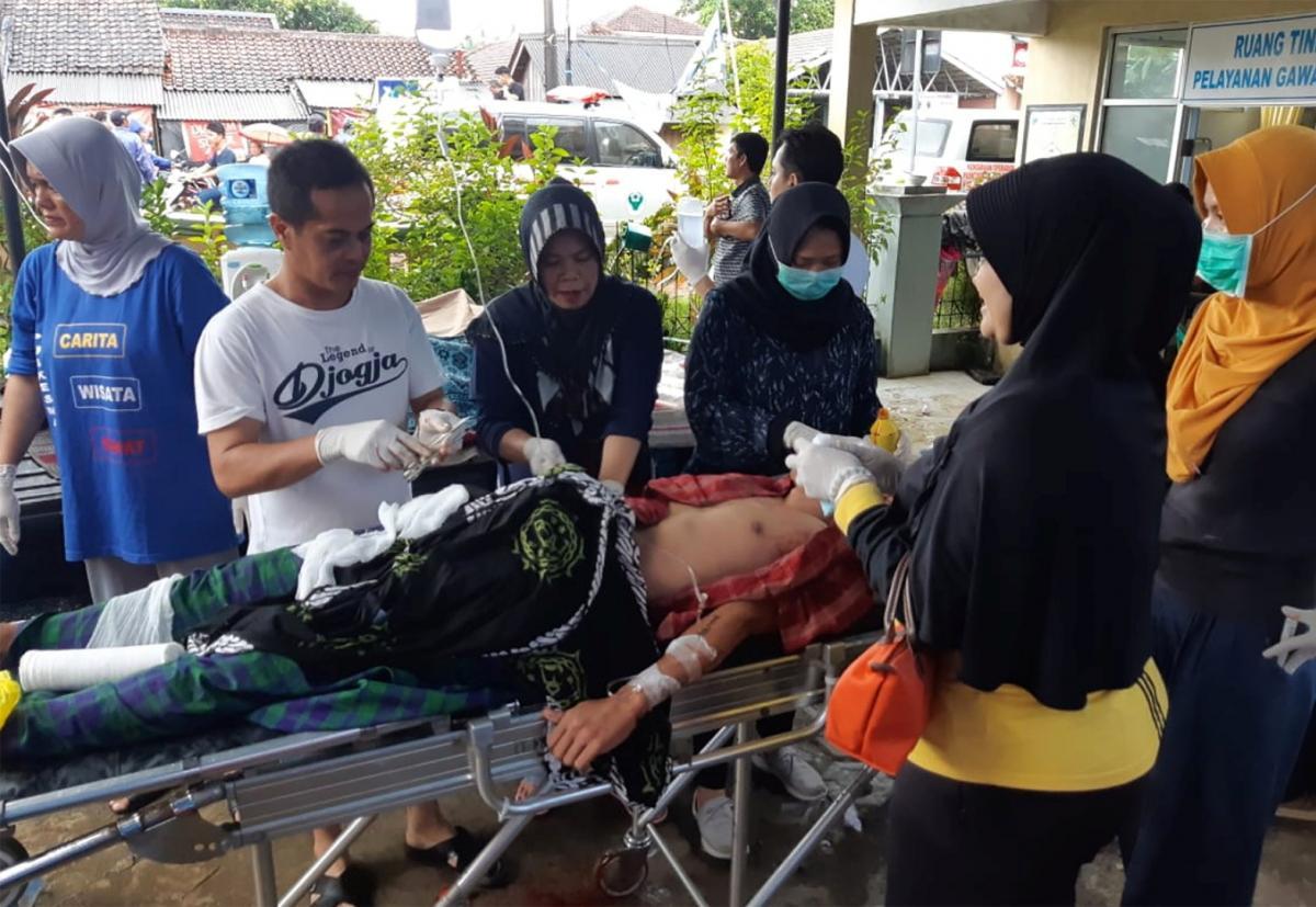 На Индонезию обрушилось мощное цунами / REUTERS