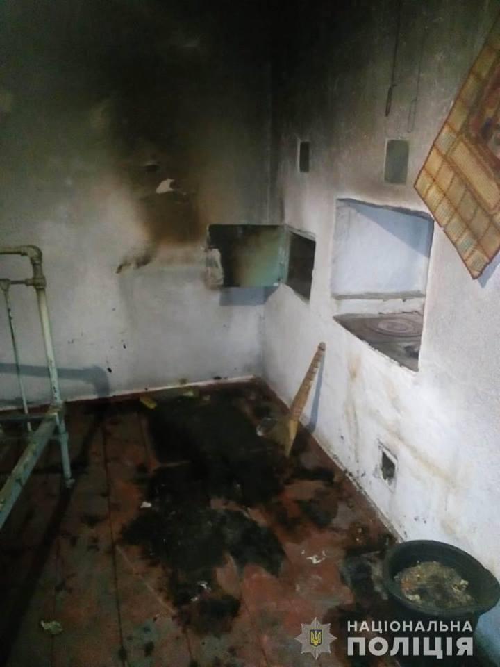 Ребенок погиб при пожаре / фото facebook.com/gunp.odessa