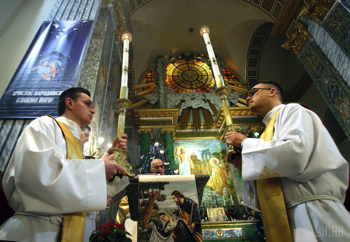 Сегодня празднуют Рождество Христово по григорианскому календарю / фото УНИАН