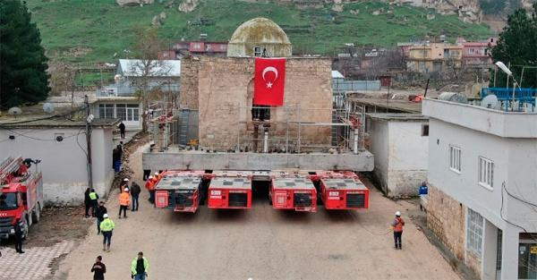 В Турции переместили здание мечети / islam-today.ru