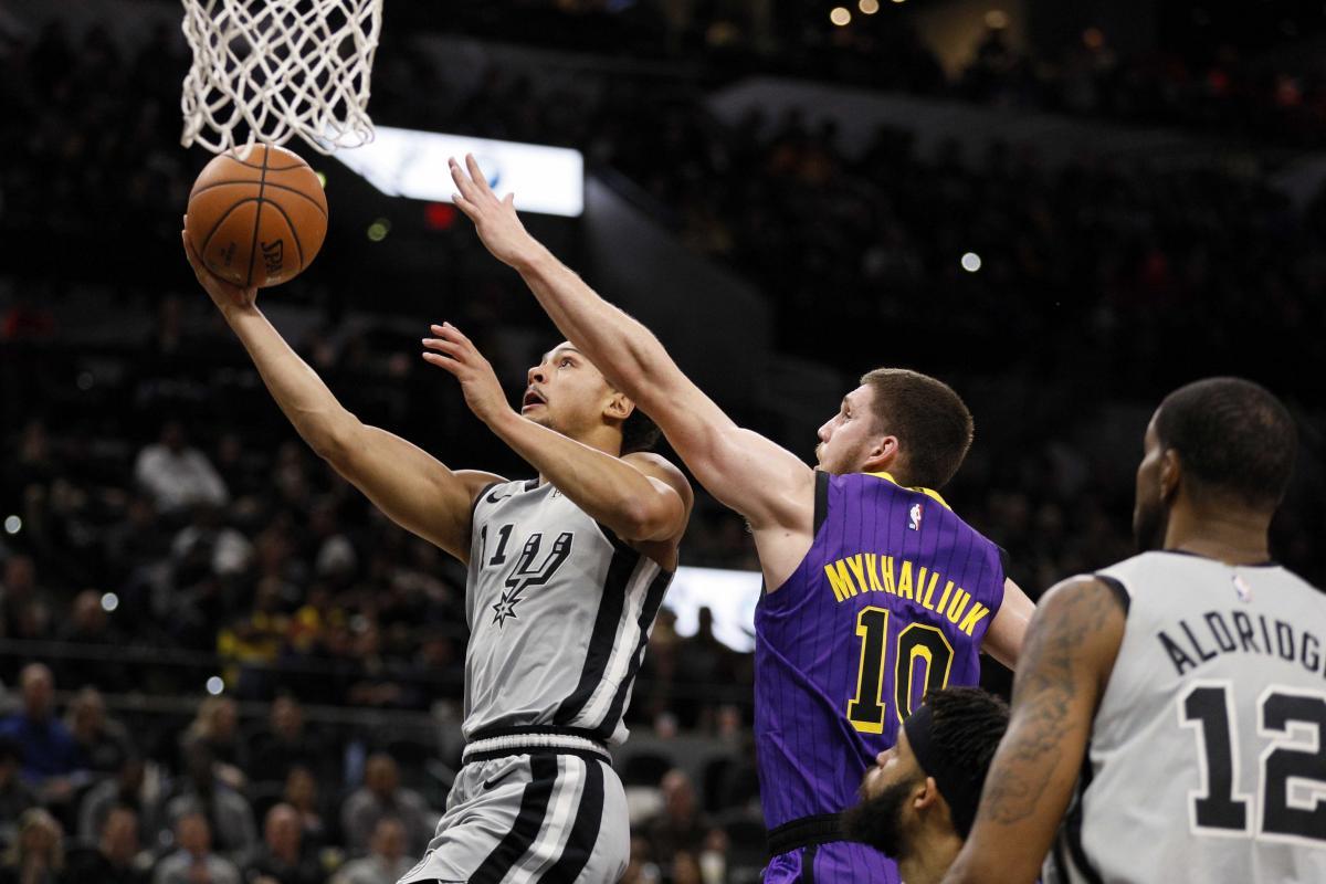 Михайлюк набрал 6 очков в очередной игре своего клуба в НБА / Reuters