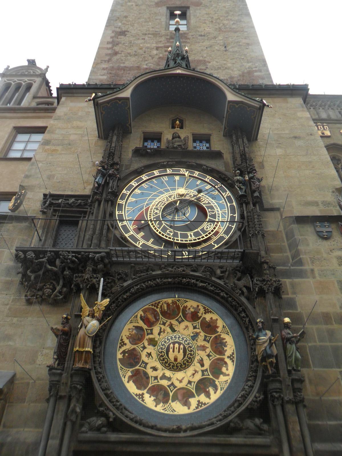 Астрономические часы на Староместской площади / фото: Ольга Броскова