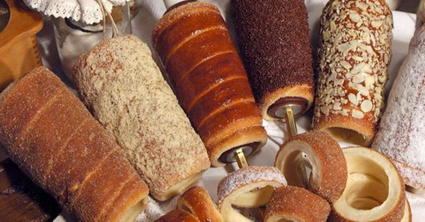 Трдельник - это пустой внутри ролл из печеного теста / Со Вкусом