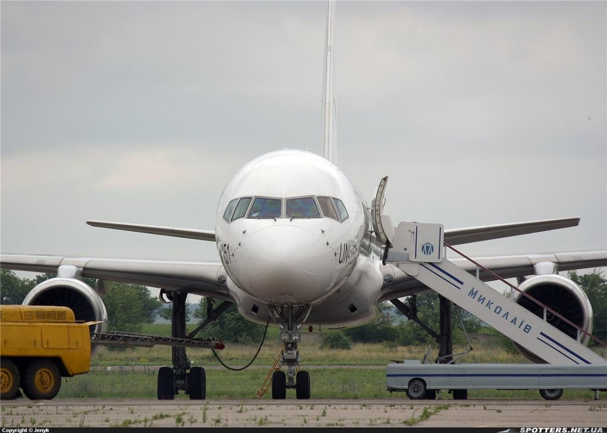 Друге місце зайняв авіаперевізник Латвії airBaltic / фото facebook/NikolaevAirport