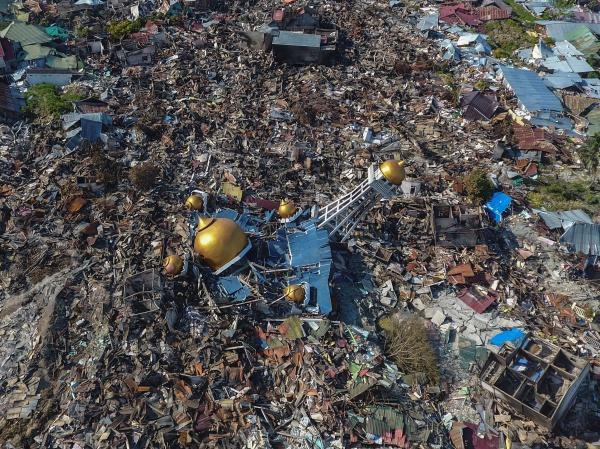 Зруйнований цунамі мусульманський храм / islam-today.ru
