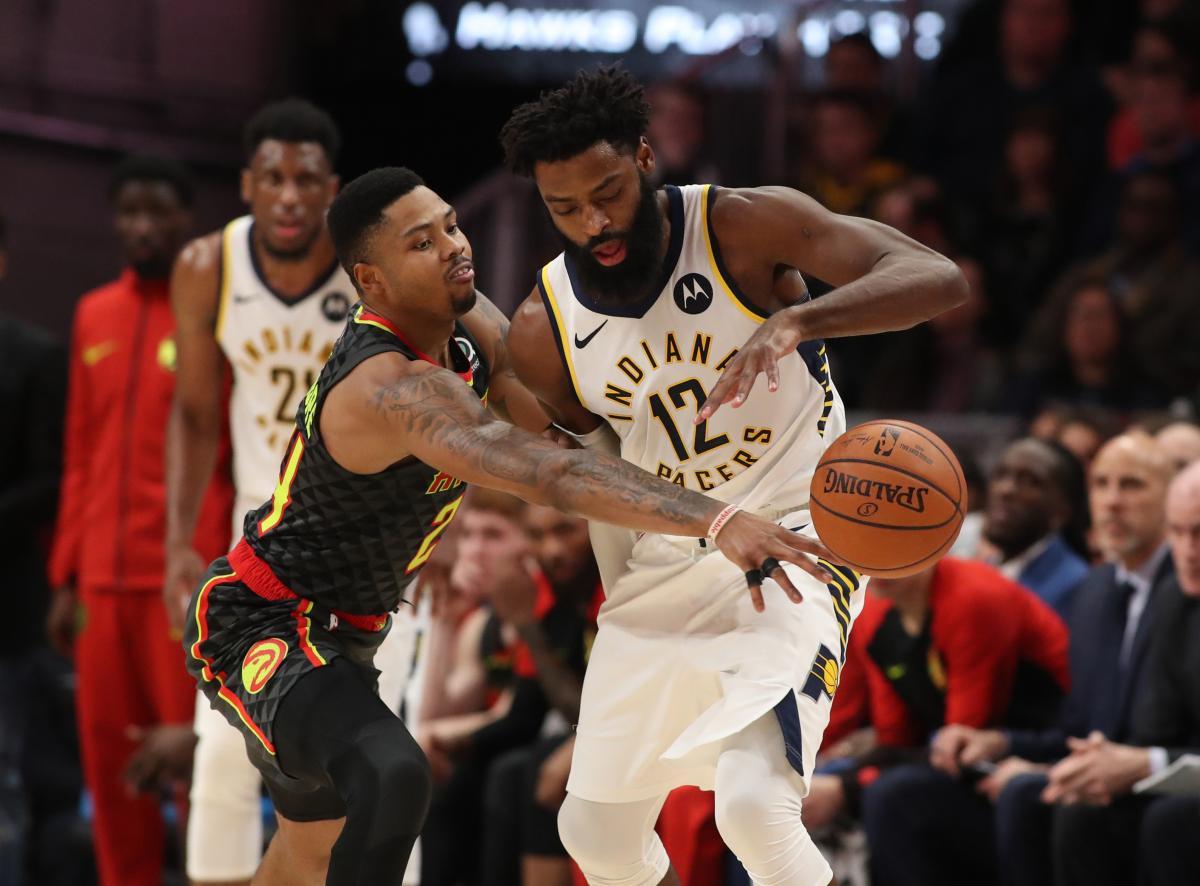 Атланта проиграла Индиане в матче регулярного чемпионата НБА / Reuters