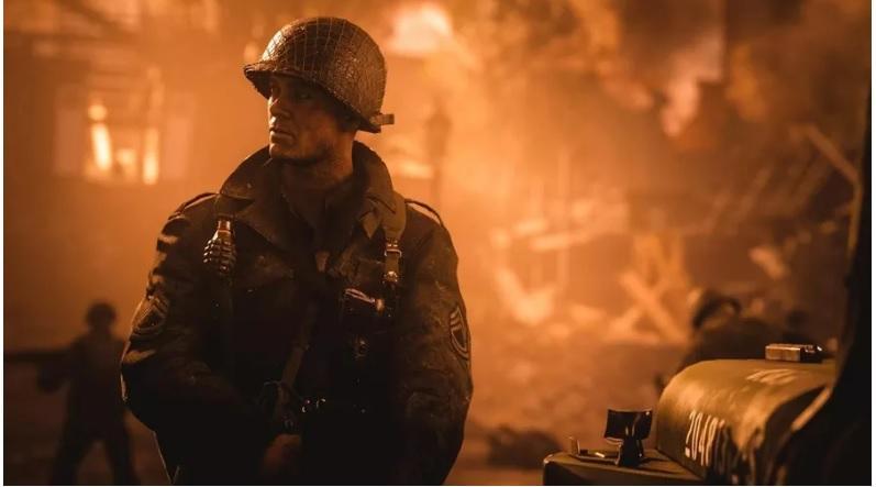 Кадр из игры Call of Duty World War II / jogos.uol.com.br