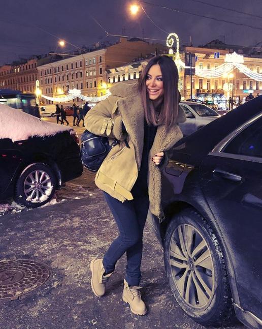 Лорак показала кадр из Петербурга / фото instagram.com/anilorak