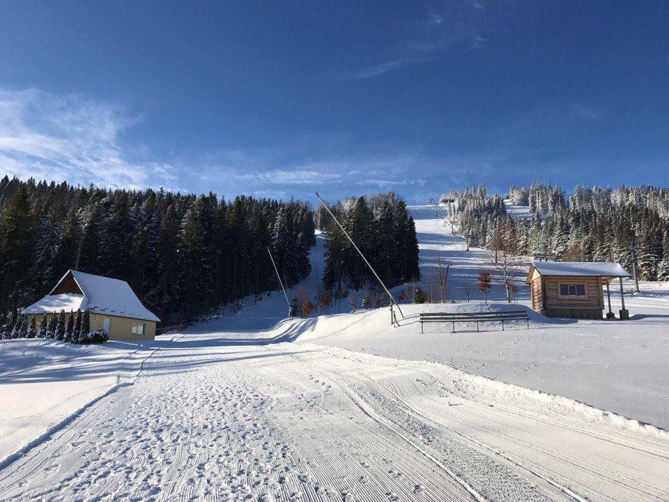 """Трассы на горнолыжном курорте """"Плай"""" подходят даже для новичков / Facebook """"Плай"""""""