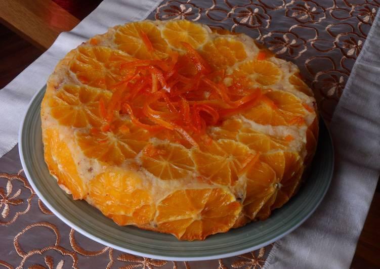 Новогодний торт с цитрусовыми / фото cookpad.com