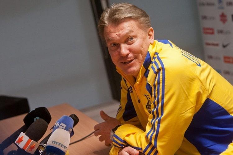 Олег Блохін на даний момент працює в УАФ / фото: УАФ