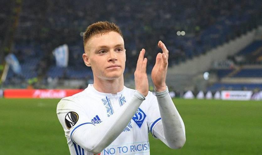 Віктор Циганков виступає за Динамо з 2016 року / фото fcdynamo.kiev.ua