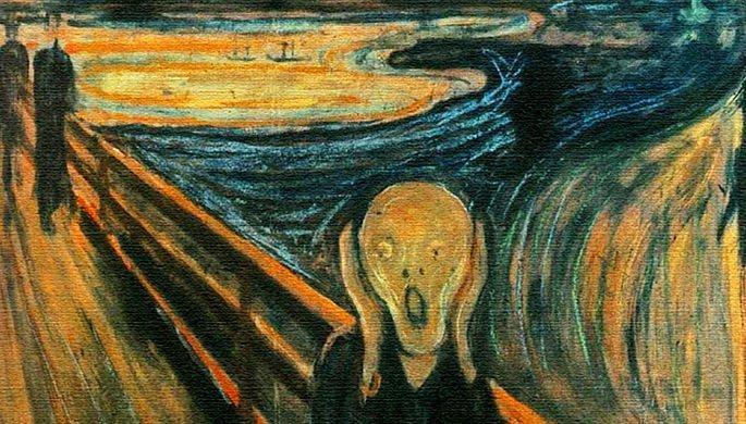 """Прославился Эдвард Мунк благодаря картине """"Крик"""" / фото Wikimedia Commons"""