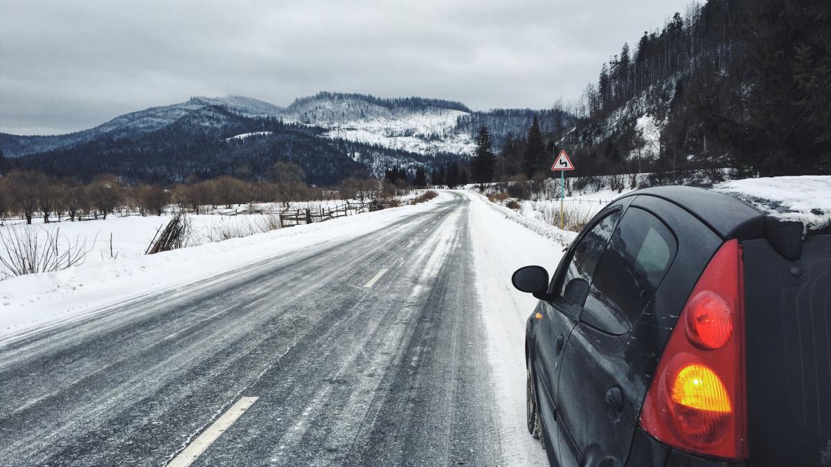 Зимой на машине в Карпаты – это реально / Фото Вероника Кордон