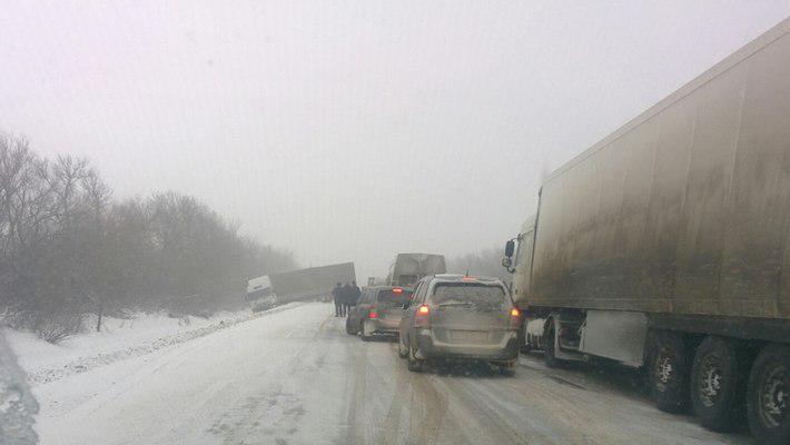 Зимой украинские дороги особо опасны / Фото из соцсетей