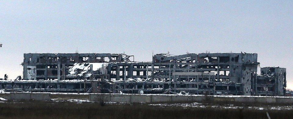 Пользователей поразили фотографии руин, оставшихся от аэропорта / Facebook Сергей Лойко