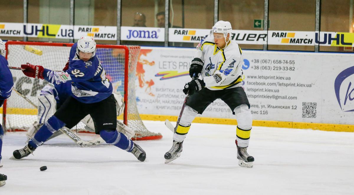 Днепр оьыграл Ледяных Волков в домашнем матче регулярного чемпионата / uhl.ua