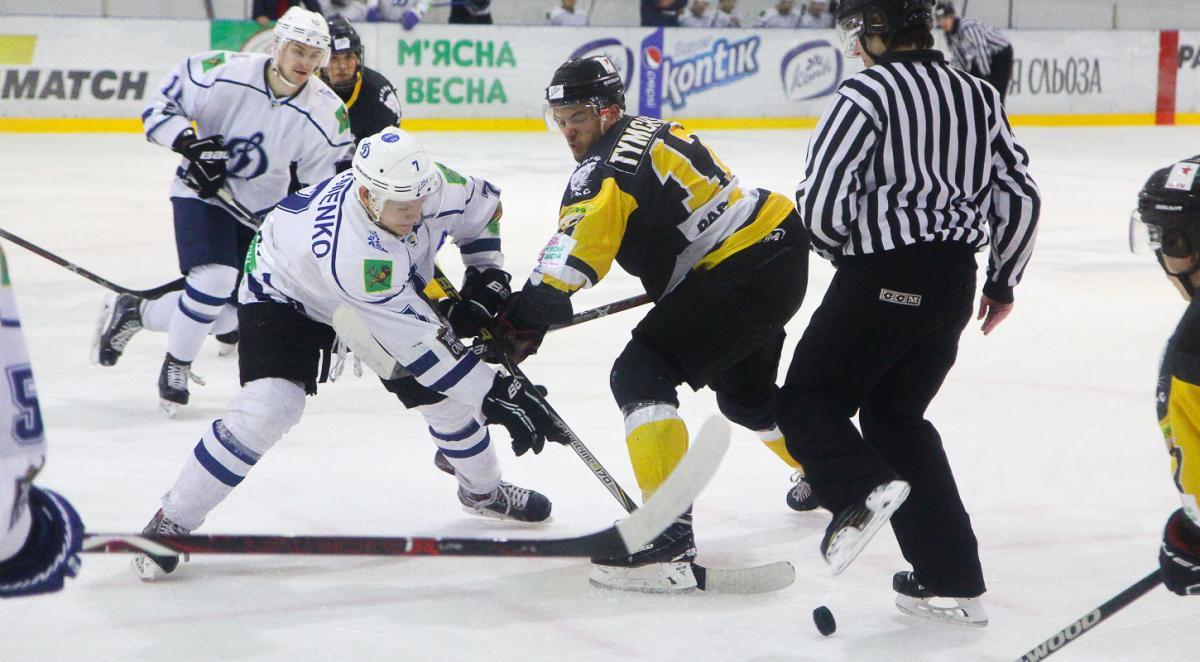 Белый Барс разгромил Динамо в матче регулярного чемпионата УХЛ / uhl.ua
