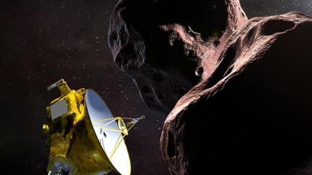 Зонд New Horizons совершил пролет мимо астероида наокраине Солнечной системы