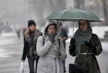 На Украину надвигаются снегопады: синоптики предупредили об ухудшении погодных условий (видео)