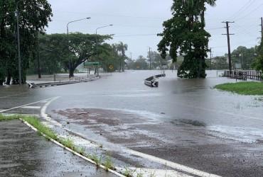 На северо-востоке Австралии прошли рекордные дожди (видео)