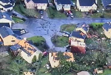 В американском штате Вашингтон пронесся разрушительный торнадо (видео)