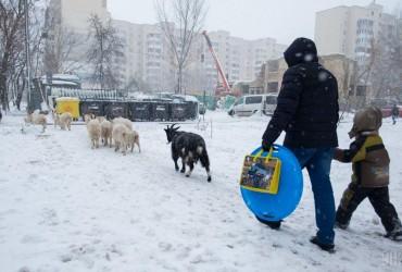 У Києві завтра сильний снігопад, температура до -6°