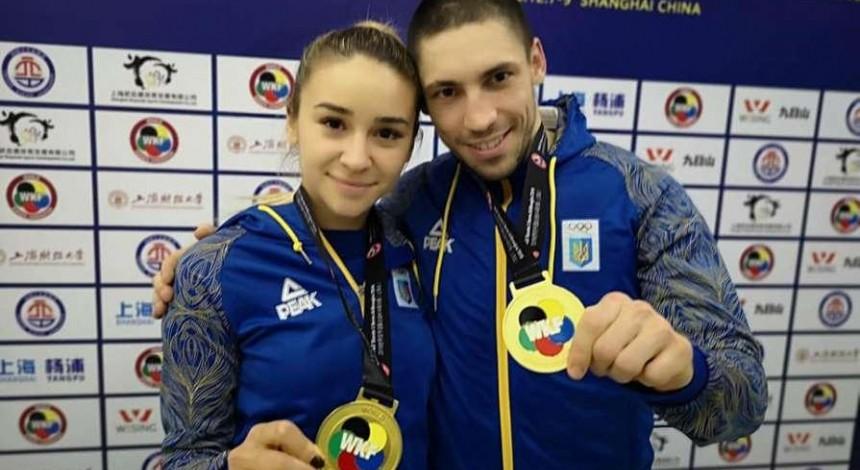 Лидеры сборной Украины по каратэ завоевали два золота на турнире Серии А в Китае