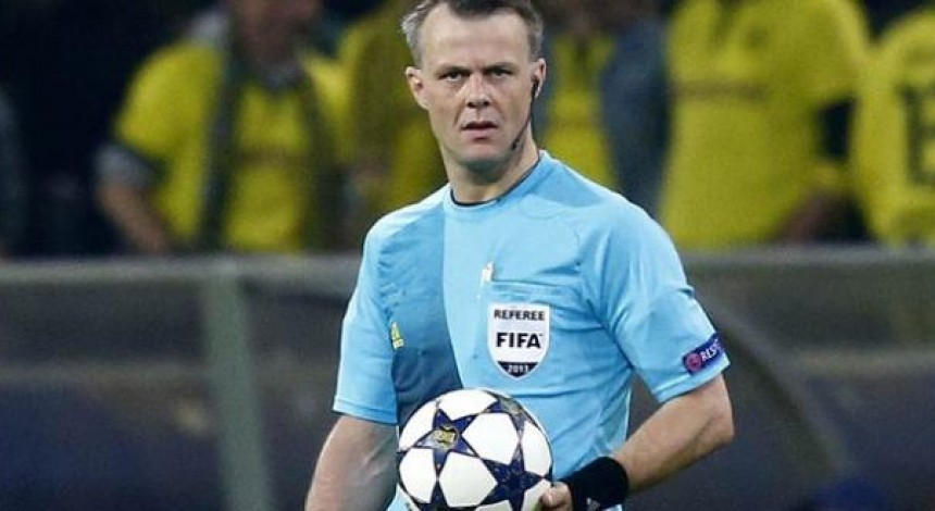 Главным арбитром матча Шахтер - Лион будет обидчик Андрея Шевченко