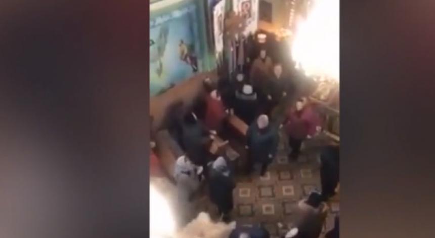 Битва в рясах: в Тернопольской области в храме подрались священники, один госпитализирован (видео)