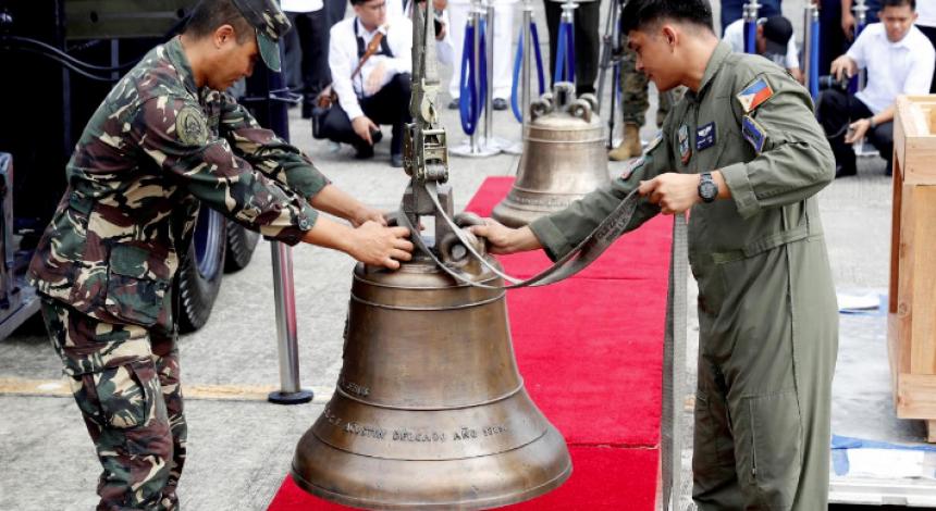 На Филиппины вернули колокола, которые американские солдаты взяли в качестве «трофеев» в начале ХХ века