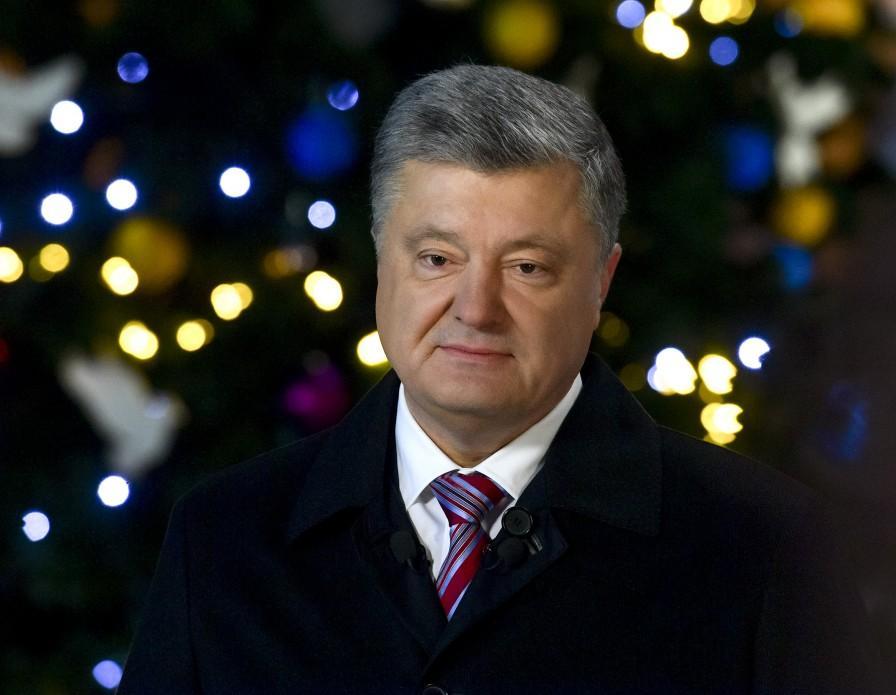 Порошенко поздравил украинских воинов и вспомнил о пленных моряках/ фото пресс-служба президента