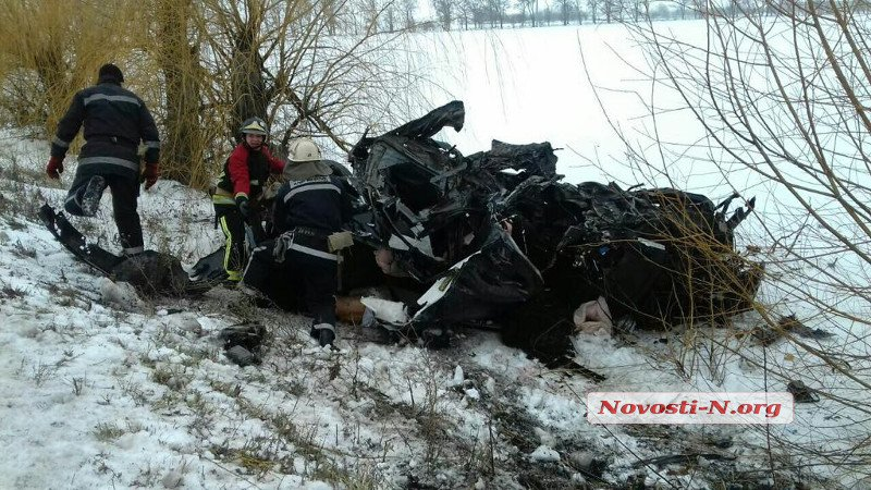 В ДТП на Николаевщине погибли 8 человек / фото novosti-n.org