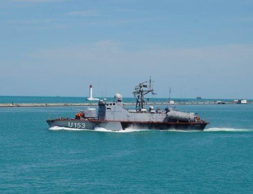 Ukrainian navy prevented an attempt to smuggle sea / Facebook, Ukrainian navy