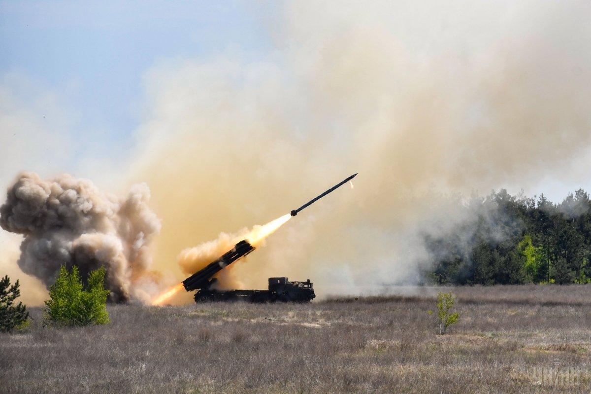 ЗСУ прийняли на озброєння «Вільху» / фото УНІАН