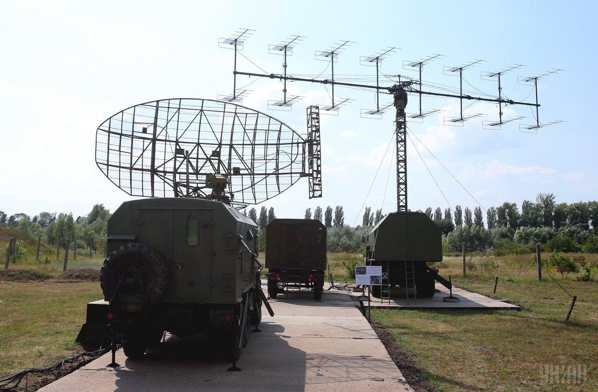5N84 radar and Malakhit radar / Photo from UNIAN