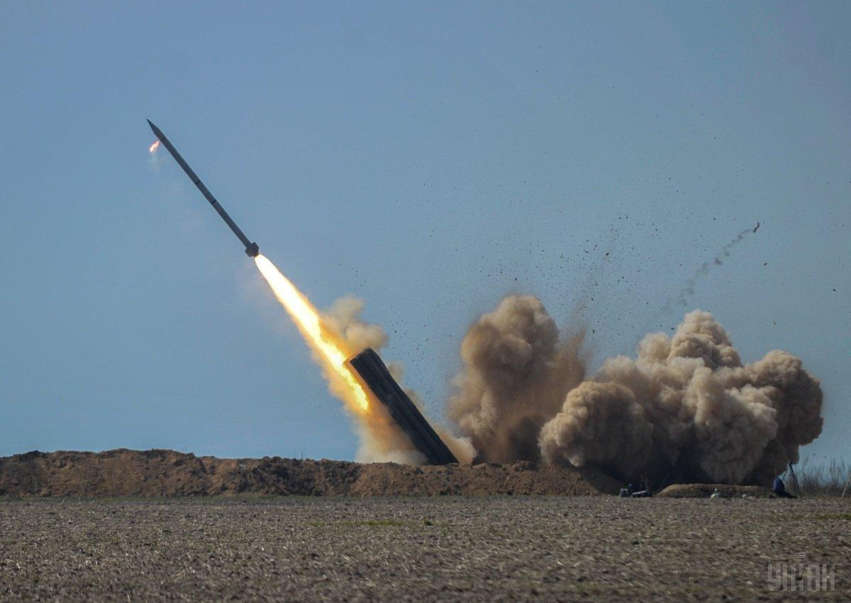 Испытания ракетного комплекса «Ольха» / фото УНИАН