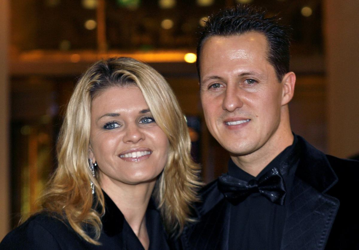 Міхаель Шумахер разом з дружиною Корінн / фото - офіційна сторінка Міхаеля Шумахера в Facebook