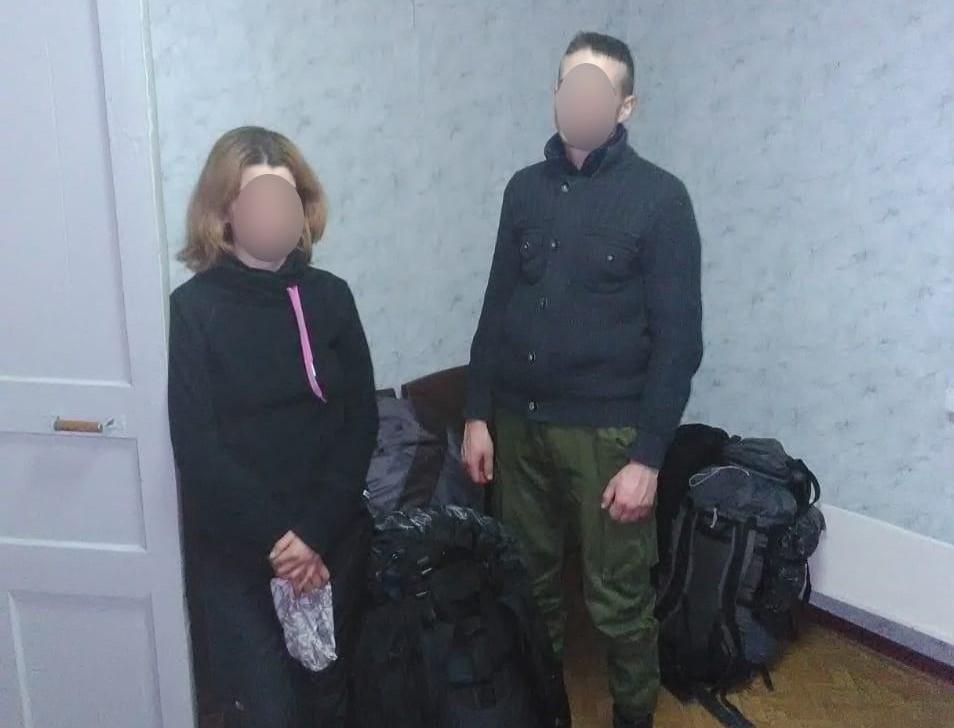 Двое сталкеров встретили Новый год в Чернобыльской зоне / фото kv.npu.gov.ua