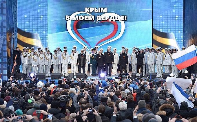 "Путин ""сошел с ума"" после Крыма / Kremlin.ru"