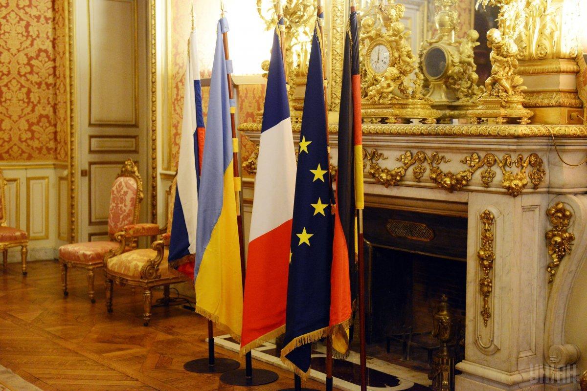 9 грудня у Парижі вперше за три роки зібралися лідери України, Росії, Німеччини та Франції/ фото УНІАН
