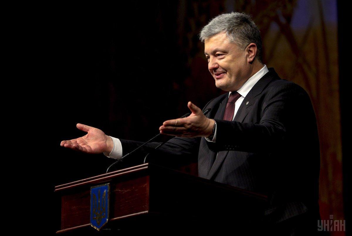 Порошенко: высокое качество избирательного процесса -визитная карточка новой Украины / фото УНИАН