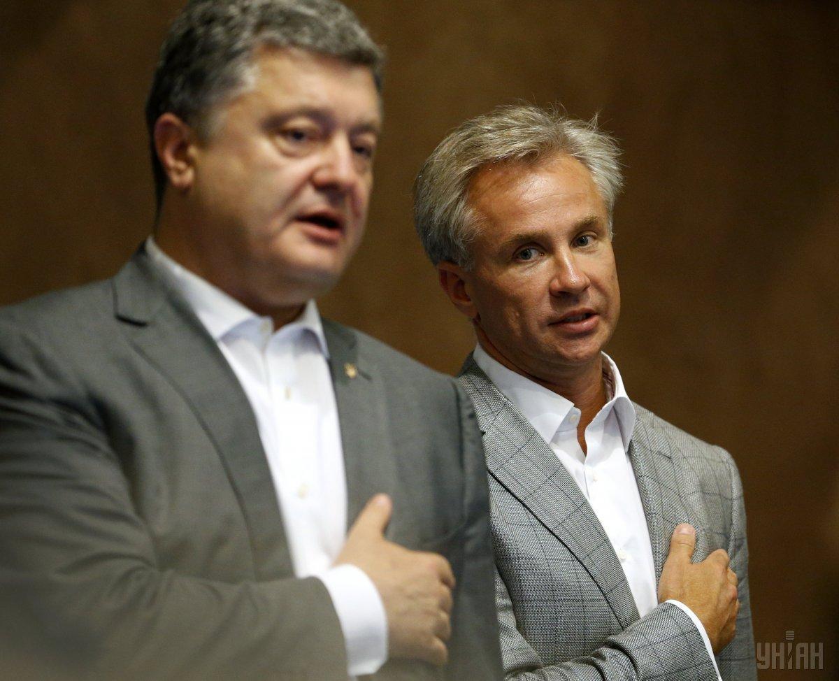 Порошенко сначала выделил Косюку госденьги, а тот потом лоббировал интересы экс-президента за рубежом / фото УНИАН