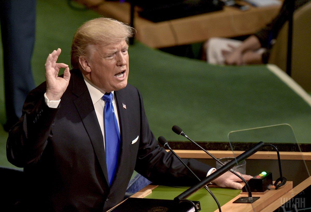 Трамп побоювався витоків / фото УНІАН
