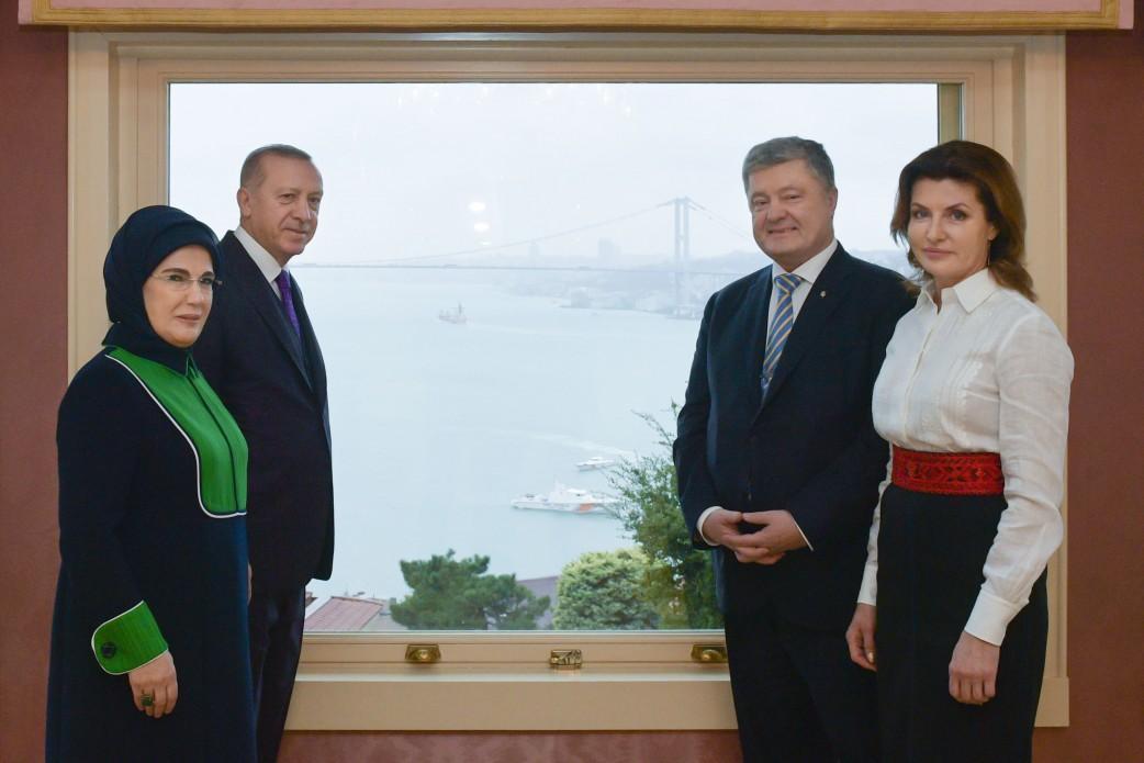 Президенты обсудили сотрудничество двух стран \ president.gov.ua