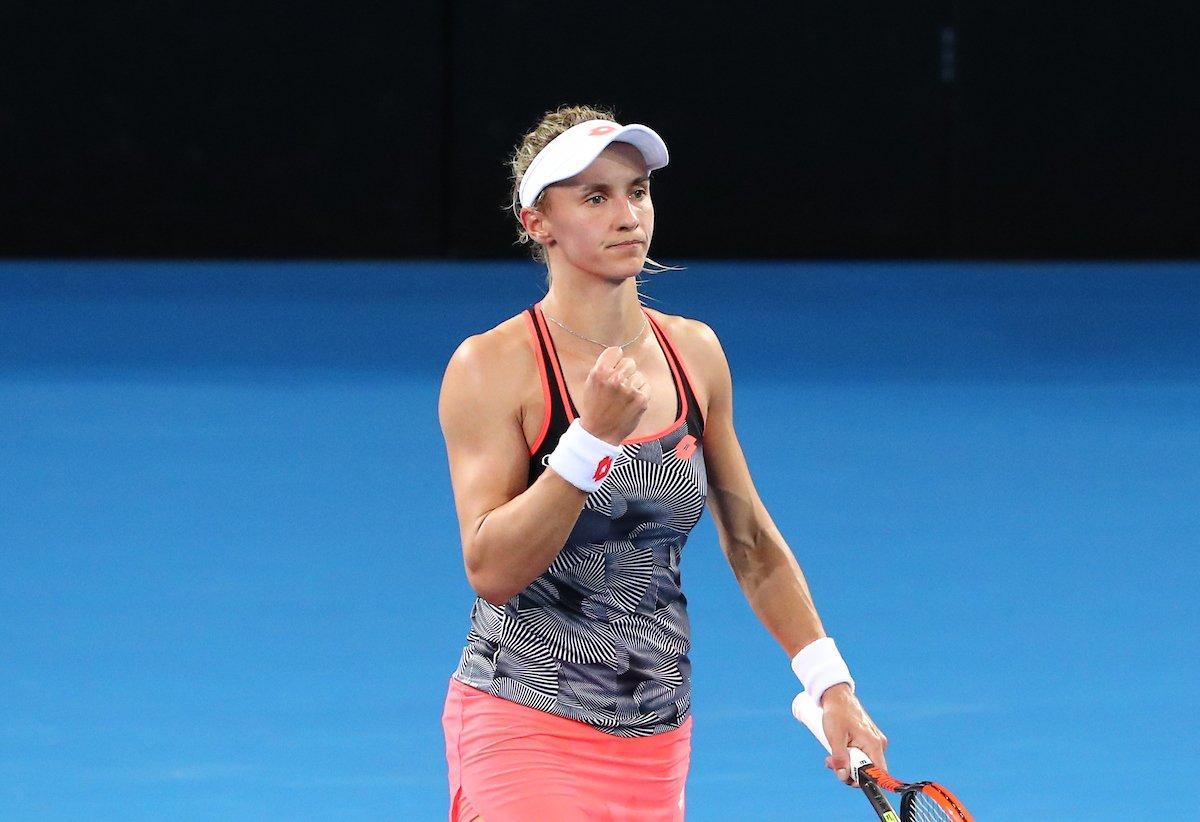 Леся Цуренко вышла в 3-й круг турнира в Дубаи/ twitter.com/BrisbaneTennis
