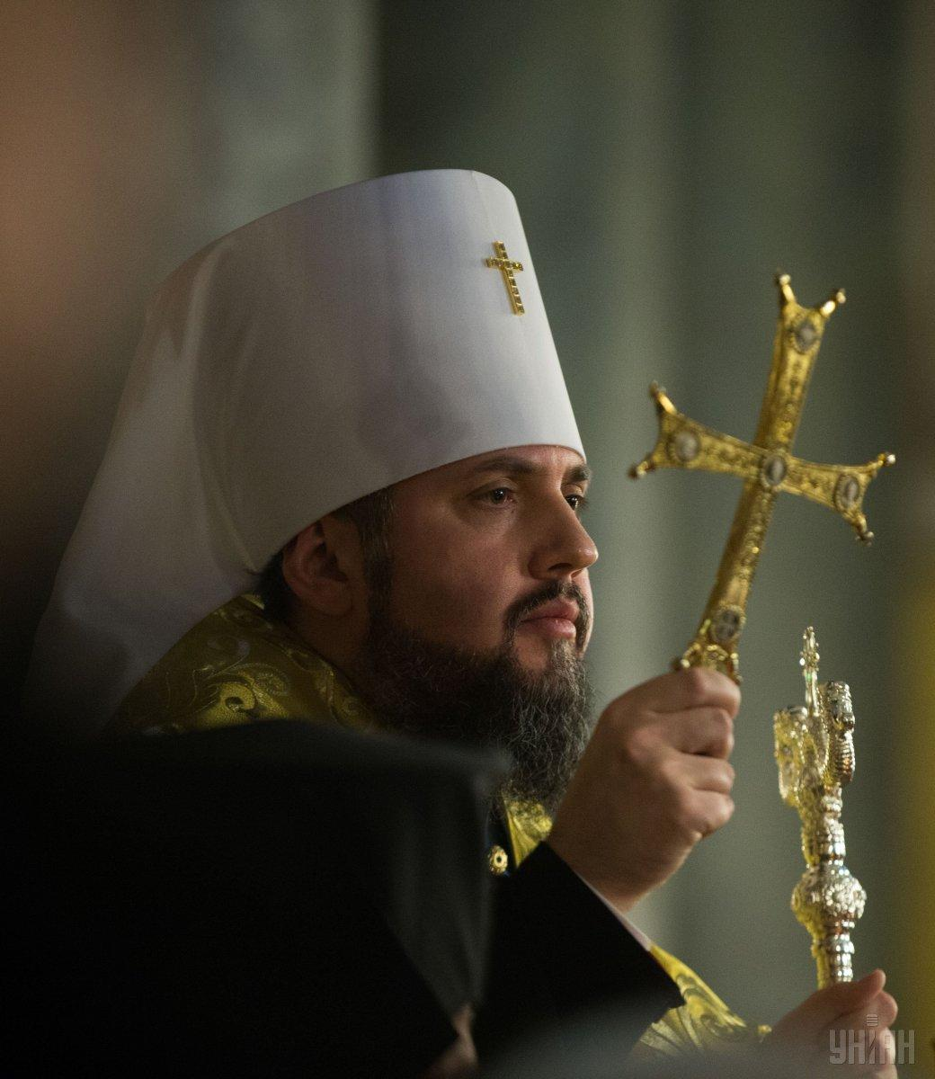 Leader of the Orthodox Church of Ukraine, Metropolitan of Kyiv and All Ukraine Epifaniy / Photo from UNIAN